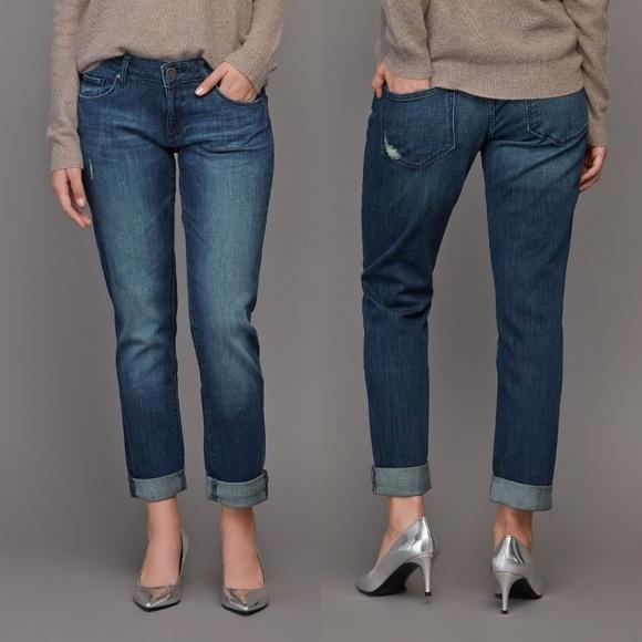 DL1961 Denim - DL1961 Riley Boyfriend Jeans, Nassau